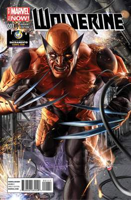 Wolverine (2014 Variant Cover) (Comic Book) #1.3