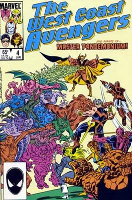 West Coast Avengers Vol. 2 (Comic-book. 1985 -1989) #4
