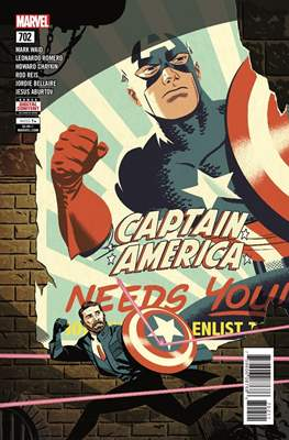 Captain America Vol. 8 (2017-2018) (Comic Book) #702