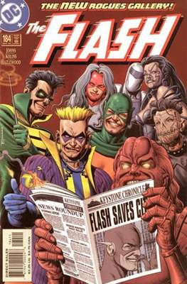 The Flash Vol. 2 (1987-2006) (Comic Book) #184
