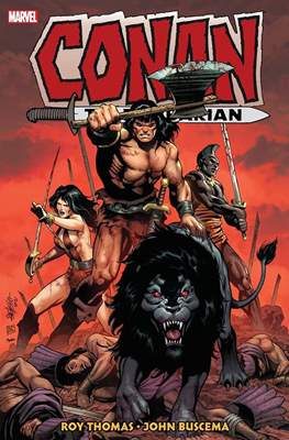 Conan The Barbarian: The Original Marvel Years (Hardcover 720-856-824 pp) #4
