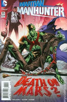 Martian Manhunter Vol 4 (Comic book) #11