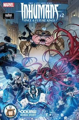 Inhumans - Once & Future Kings (Variant Covers) #2