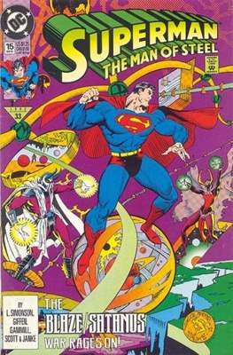 Superman: The Man of Steel (Comic book) #15