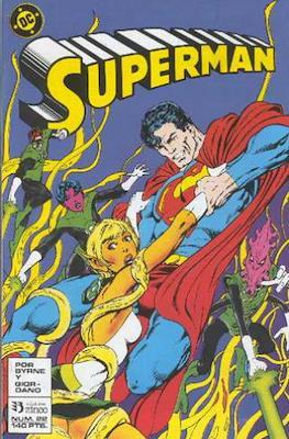 Superman: El hombre de acero / Superman Vol. 2 (Grapa 36 pp) #22