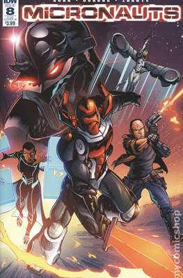 Micronauts (2016-2017 Variant Cover) (Comic Book) #8.2