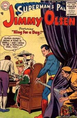 Superman's Pal, Jimmy Olsen / The Superman Family (Comic Book) #4