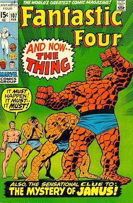 Fantastic Four Vol. 1 (1961-1996) (saddle-stitched) #107