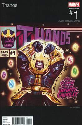 Thanos (2016-2018 Variant Cover)