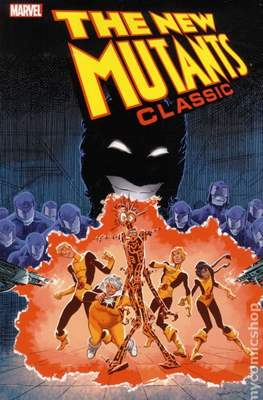The New Mutants Classics (Softcover 224-280 pp) #7