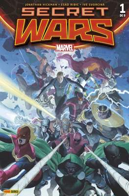 Secret Wars (2015 Portadas alternativas) (Grapa) #1