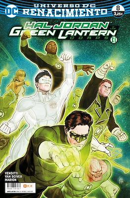 Green Lantern. Nuevo Universo DC / Hal Jordan y los Green Lantern Corps. Renacimiento (Grapa) #63/8