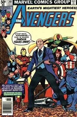 The Avengers Vol. 1 (1963-1996) (Grapa) #201