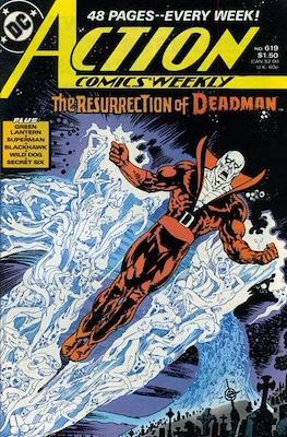 Action Comics Vol. 1 (1938-2011; 2016-) (Comic Book) #619
