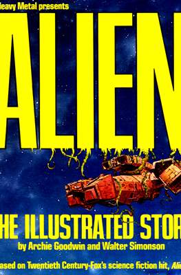 Alien. The Illustrated Story