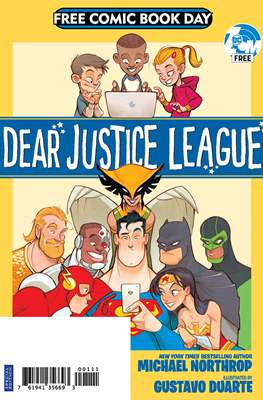 Dear Justice League - Free Comic Book Day 2019
