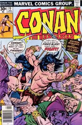 Conan The Barbarian (1970-1993) (Comic Book 32 pp) #70