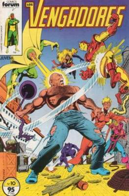 Los Vengadores Vol. 1 (1983-1994) (Grapa) #10