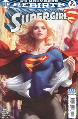 Supergirl Vol. 7 (2016-... Variant Cover) (Comic Book) #15