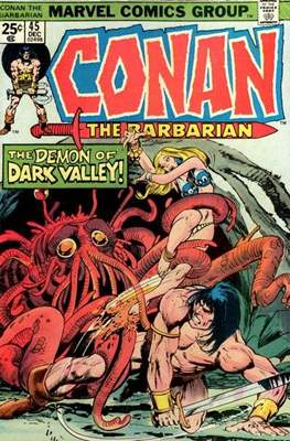Conan The Barbarian (1970-1993) (Comic Book 32 pp) #45