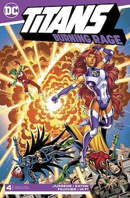 Titans: Burning Rage (Comic Book) #4