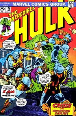 The Incredible Hulk Vol.1 (Saddle-stitched. 1962-1999) #176