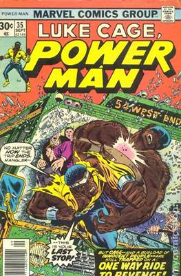 Hero for Hire / Power Man Vol 1 / Power Man and Iron Fist Vol 1 (Comic Book) #35