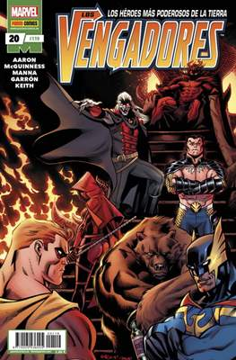 Los Vengadores Vol. 4 (2011-) #119/20