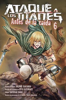 Ataque a los Titanes: Antes de la caída (Rústica con sobrecubierta) #6