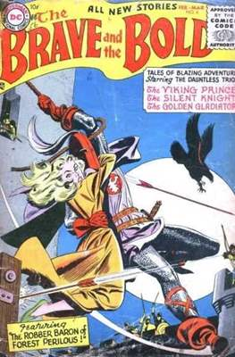 The Brave and the Bold Vol. 1 (1955-1983) #4