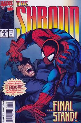 The Shroud (Comic Book) #4