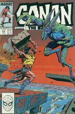Conan The Barbarian (1970-1993) (Comic Book 32 pp) #214