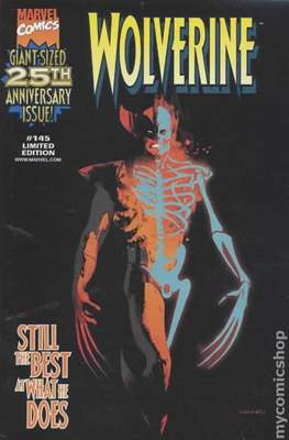 Wolverine (1988-2003 Variant Cover) #145