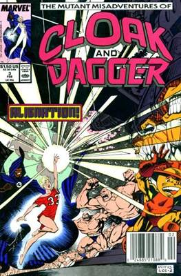 Cloak and Dagger Vol. 3 (1988-1991) (Comic-book.) #3