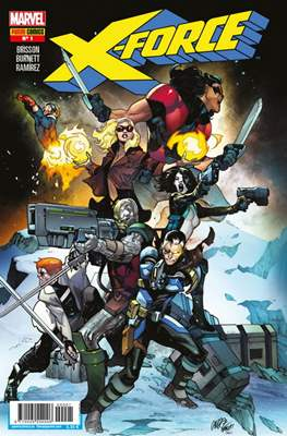 X-Force Vol. 4 (2019-) (Grapa 64 pp) #1