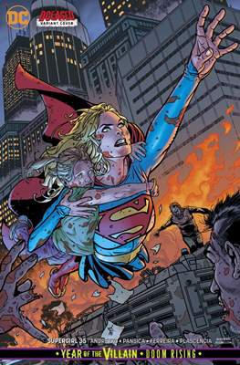Supergirl Vol. 7 (2016-... Variant Covers) (Comic-book) #35
