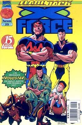 X-Force Vol. 2 (1996-2000) (Grapa 24 pp) #25