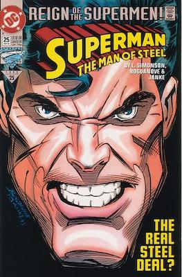 Superman: The Man of Steel (Comic book) #25
