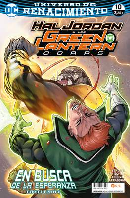 Green Lantern. Nuevo Universo DC / Hal Jordan y los Green Lantern Corps. Renacimiento (Grapa) #65/10