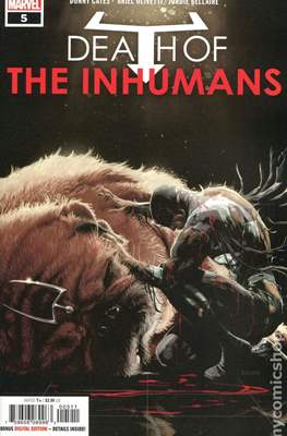 Death of the Inhumans (Comic Book) #5