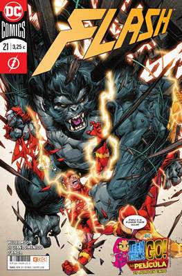 Flash. Nuevo Universo DC / Renacimiento (Rústica / Grapa) #35/21