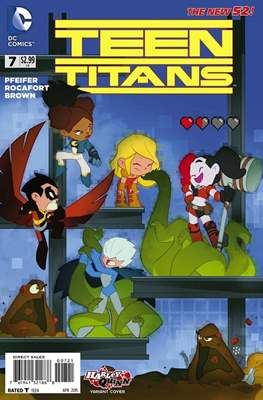 Teen Titans Vol. 4 (2011-2014 Variant Cover) #7