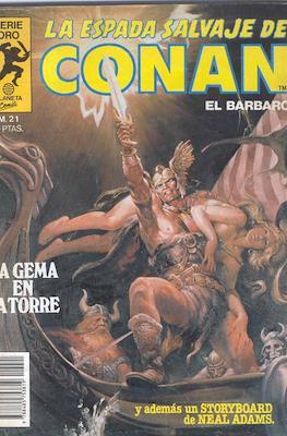 La Espada Salvaje de Conan. Vol 1 (1982-1996) (Grapa. B/N.) #21