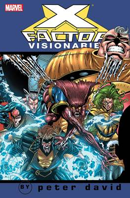 X-Factor Visionaries: Peter David (Softcover) #4