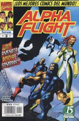 Alpha Flight Vol. 2 (1998-1999) (Grapa) #3