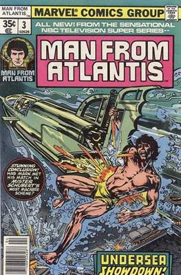 Man from Atlantis (Comic-book.) #3