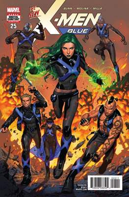 X-Men Blue (Comic-book) #25