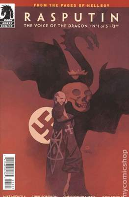 Rasputin: The Voice of the Dragon (Variant Covers) (Grapa) #1