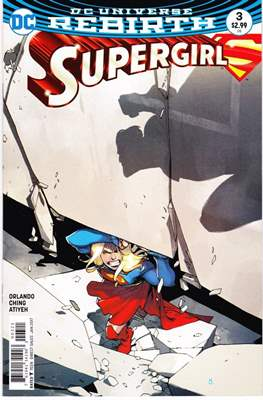 Supergirl Vol. 7 (2016-... Variant Cover) (Comic Book) #3