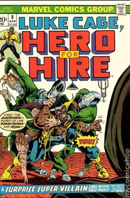 Hero for Hire / Power Man Vol 1 / Power Man and Iron Fist Vol 1 #8